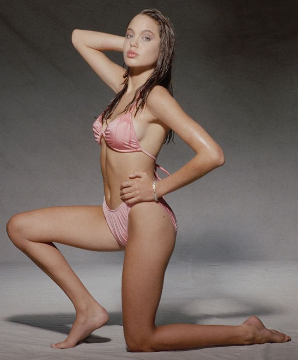 Angelina jolie bikini